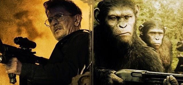 Três curtas prequel narram o declínio da humanidade entre A Origem e Planeta dos Macacos: O Confronto