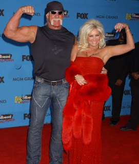 Hulk Hogan wife Linda Hogan press photos