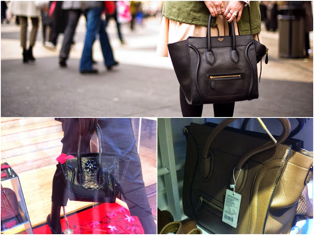 celine luggage bags and copies