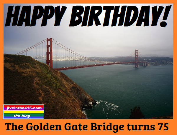 San Francisco celebrates 75th Anniversary Golden Gate Bridge