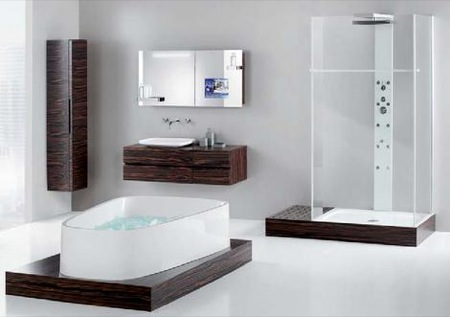 Bathroom Plans on World Home Improvement  Small Luxury Bathroom Design