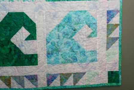 Sew Loquacious: Ocean Waves Quilt: DONE!