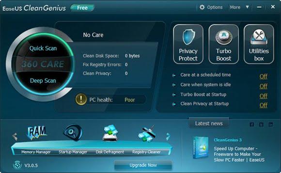 EaseUS CleanGenius Potente Optimizador de PC