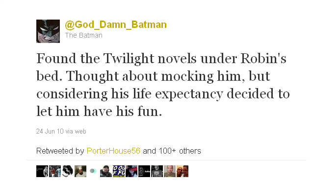 God_Damn_Batman from June 24, 2010
