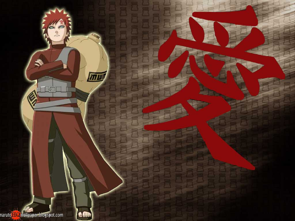 Gaara as Kazekage Wallpaper 1