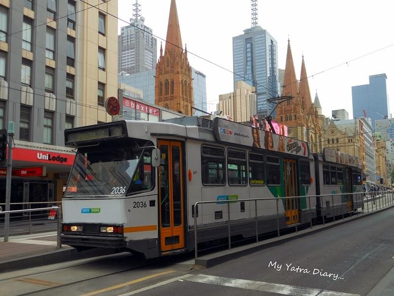 Yarra tram rides, Melbourne
