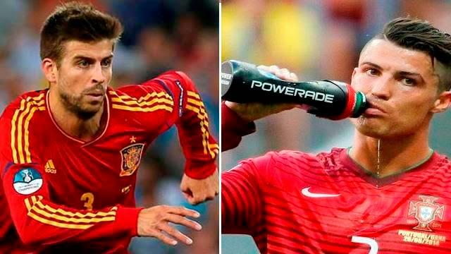 رونالدو و بيكيه ضمن اسوأ اللاعبين في كاس العالم