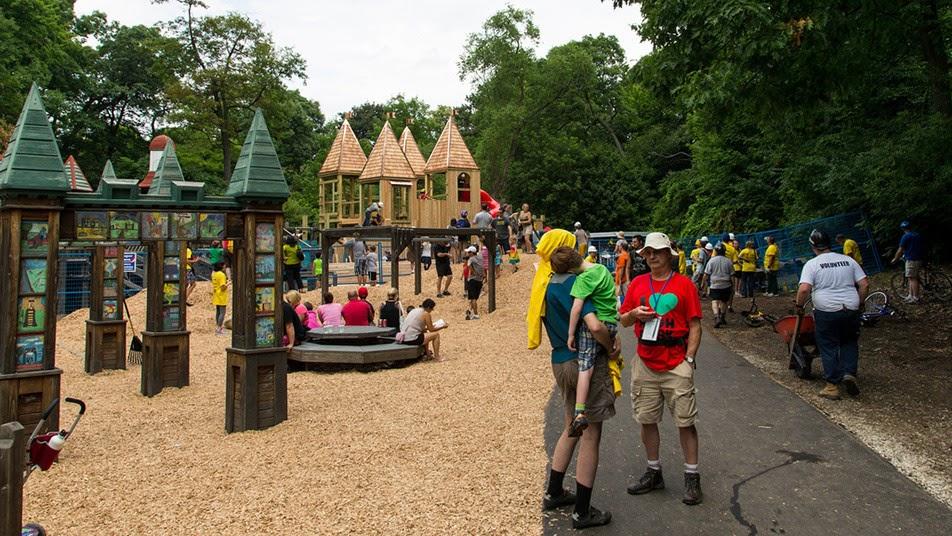 Детская площадка Jamie Bell