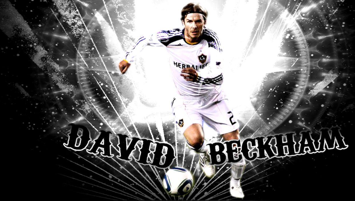 David Beckham Soccer Galaxy   wallpaper