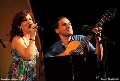Neus Mar i Jordi Rubau a la 29ª Cantada d'Havaneres de Platja d'Aro