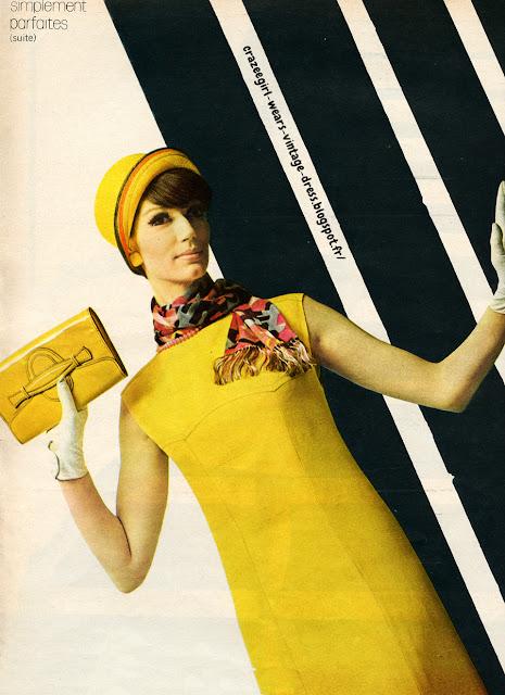 robe trapeze annees 60 1960 1965 60s 60's a-line aline dress mod Simplement parfaites , des robes réduites à l'essentiel    - une ligne , une matière , une couleur -    toile lumineuse et jupe évasée montée en chevron sous un buste mince  Pariken chez Men Sport Toile blanche , découpe en V  Pariken chez Amyl Chloé chez Vog , cloche JC Brosseau Toile brune articulée de gros-grain beige , taille haute , jupe trapeze  Dorothée , toque Catherine oile beige , ligne effleurante , deux longues coutures bretelles rompues de 4 poches-gilet boutonnées , emmanchure au ras de l'épaule  Jane Lend Lainage blanc, couture verticale , taille descendue et soulignée par une couture horizontale  Roger Chastel chez Marie-Martine