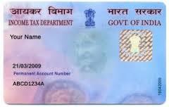 verification of pan card