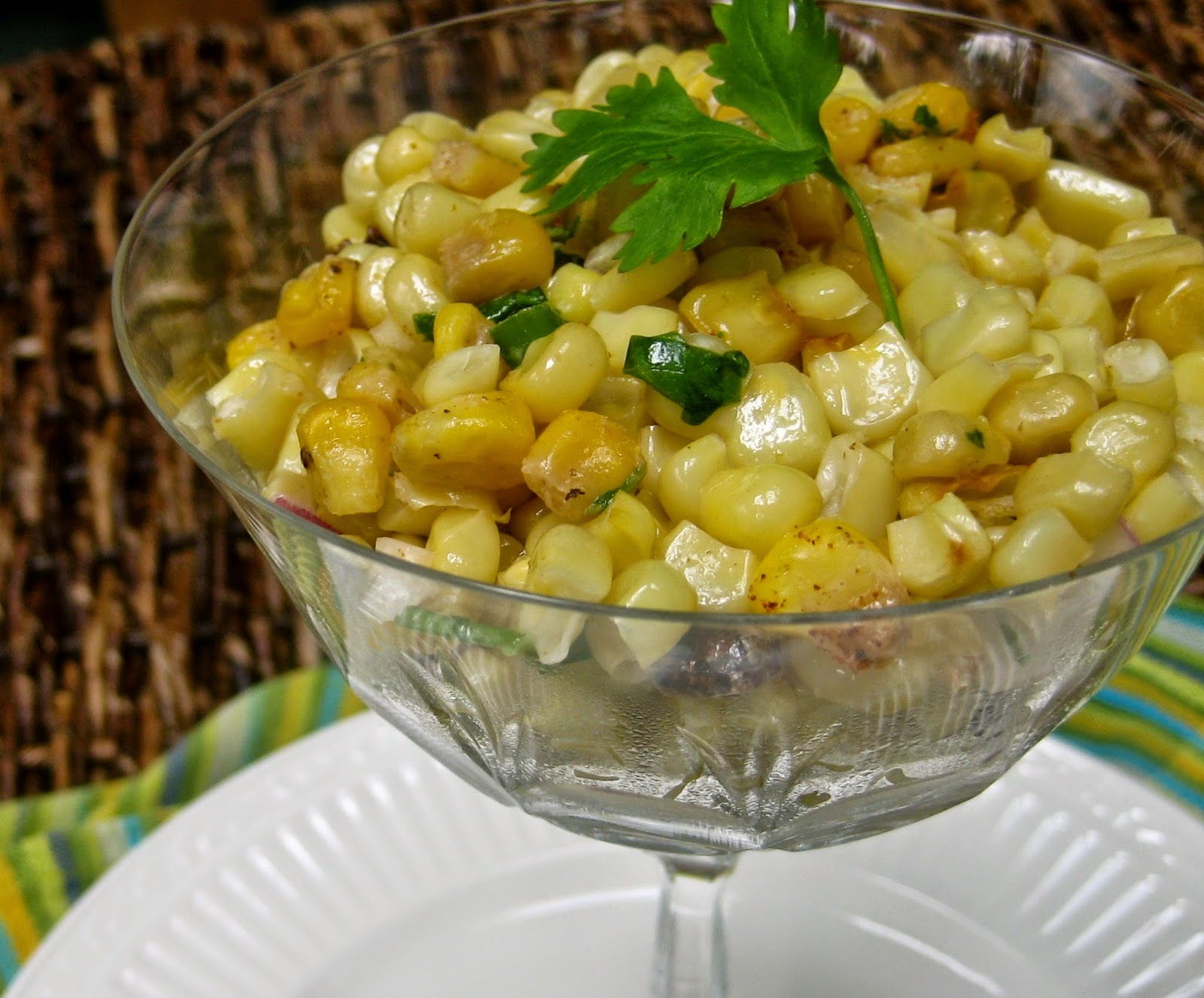 ... and Laguna: Delicious Esquites, A Mexican Sweet Corn Salad Recipe