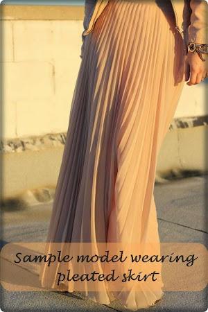 Pelbagai Jenis Long Skirt Diperbuat Dari High Quality Chiffon Tidak Jarang Yang HArus  Di Miliki