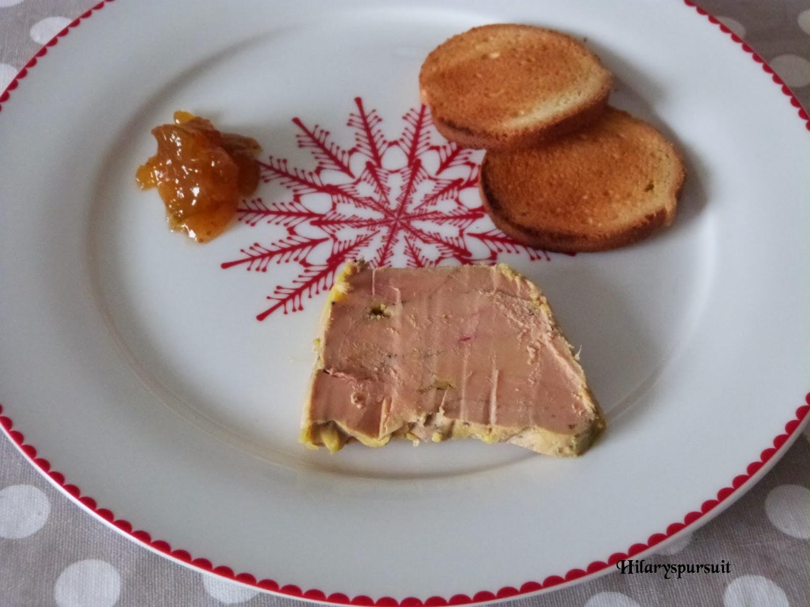 Dans la cuisine d 39 hilary terrine de foie gras maison home made foie gras terrine - Foie gras maison en terrine ...