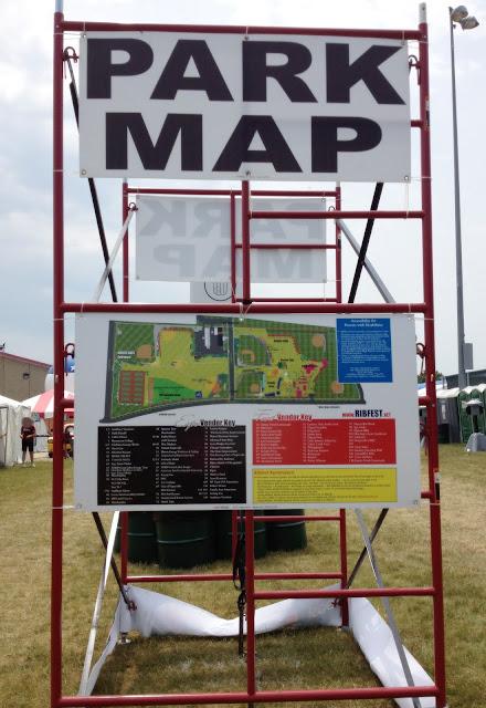 Ribfest Map