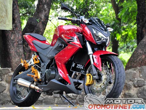 Modifikasi Kawasaki Z250 Simpel Street Bike