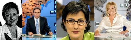 Programas longevos de la televisión española, Gloria Serra, Vicente Vallés, Montserrat Domínguez, María Teresa Campos, Yolanda Benítez