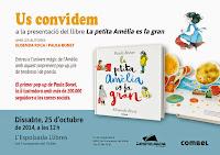 Presentació La petita Amèlia es fa gran amb Elisenda Roca i Paula Bonet