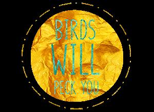 birds will peck you