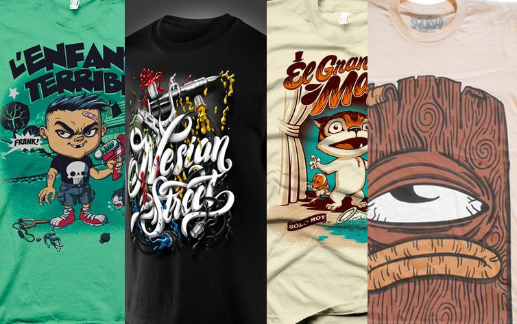 40 excelentes dise u00f1o de camisetas