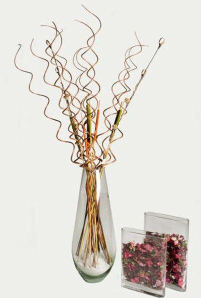 Neo arquitecturaymas decorar con flores y ramas secas - Adornos flores secas ...