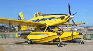 Air Tractor AT-802 apagafocs d'Avialsa a Sabadell