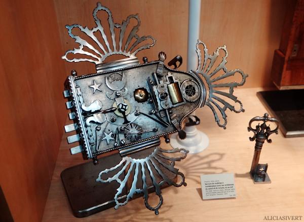 aliciasivert, Alicia Sivertsson, Rouen, France, Musée le secq des Tournelles, normandy, frankrike, nomandie, museum, järnmuseum, iron, järn, lås, nyckel, lock, key