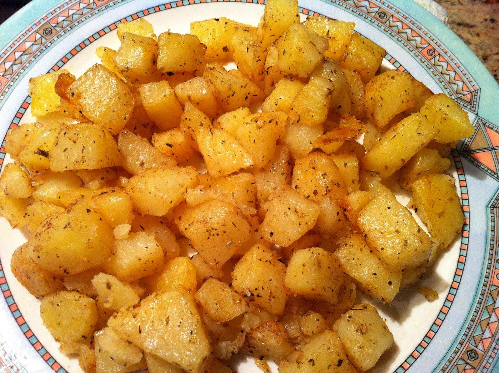 Patatas al horno y papas arrug s con alioli paperblog - Patatas pequenas al horno ...