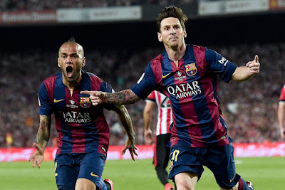 Lionel Messi goal Spanish Cup Final 2015