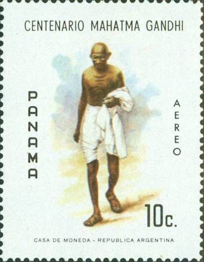 Now Recently I Saw This Panama Gandhi Stamp Is Selling From FIXED Price Of 60 So Am Not Sure What Previous Buyers Feeling About His Purchase