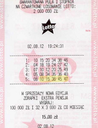 KUPON LOTTO!
