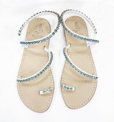 Luxor - Aquamarine Sandals