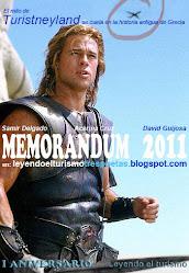 "MEMORANDUM 2011. I Aniversario de ""Leyendo el turismo"""