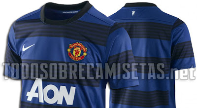 New costumes Manchester United