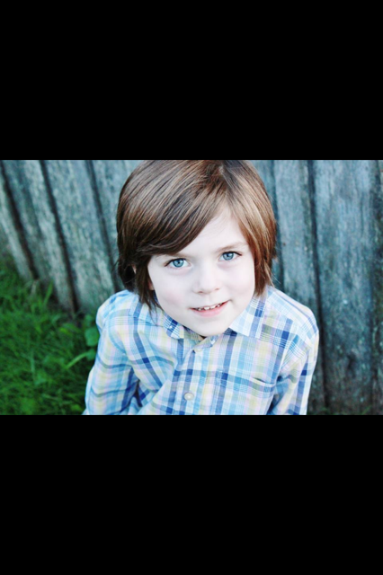Quinn, our sweet, compassionate and tender-hearted 6 year old.