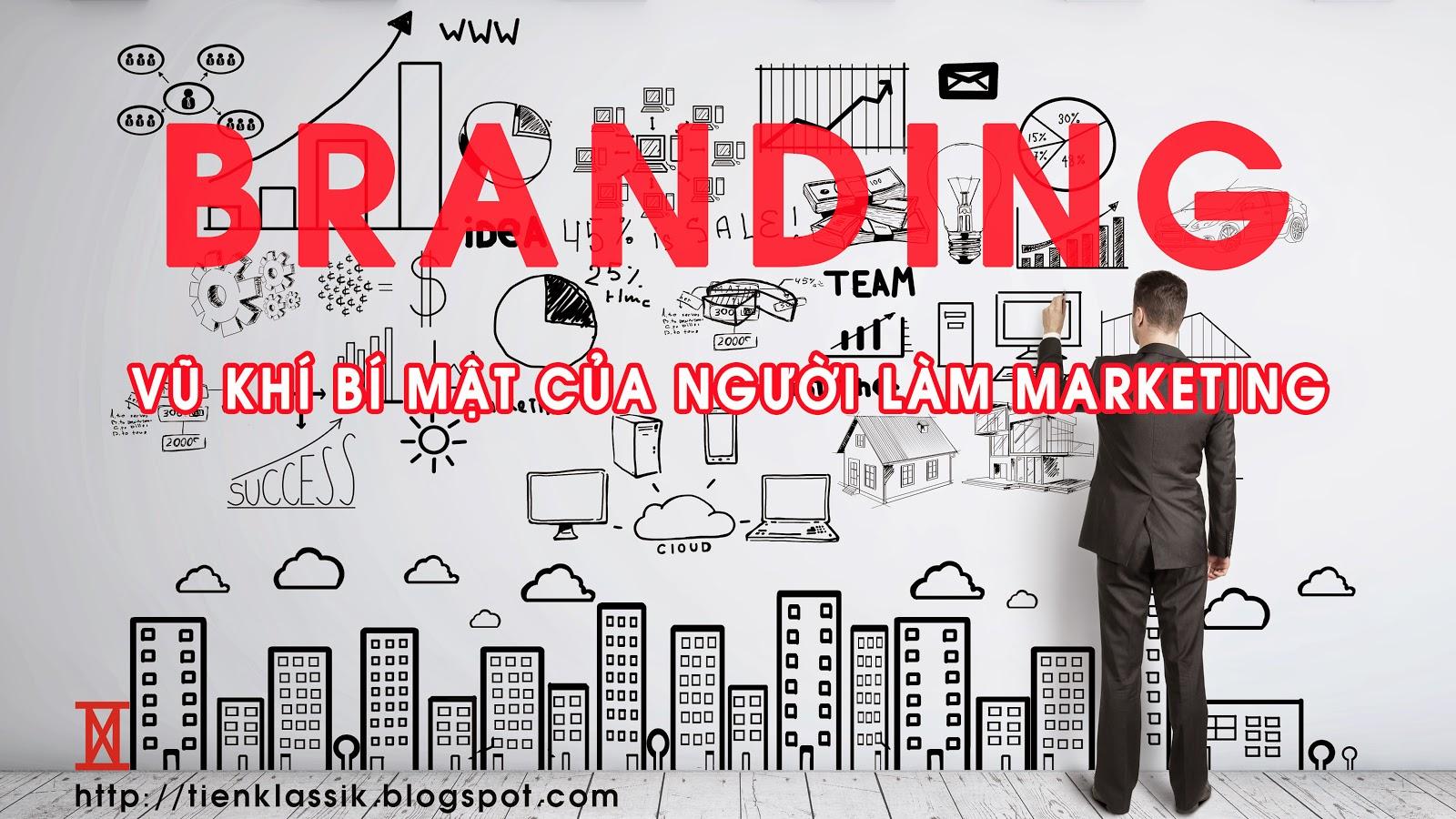 Chiến lược thương hiệu: Vũ khí bí mật cuả người làm marketing