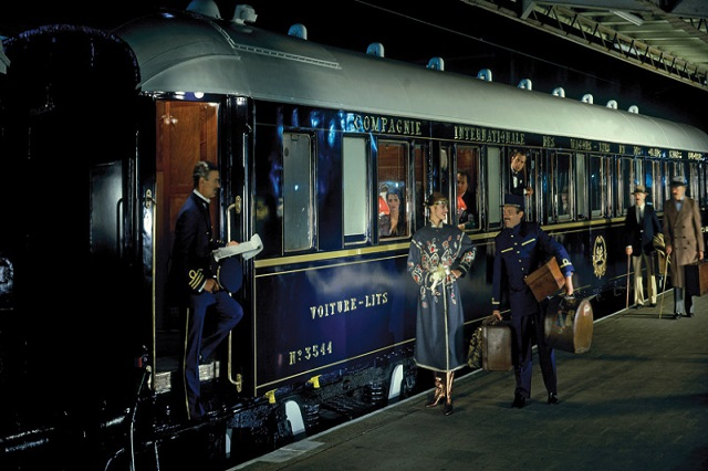 Experience a world of timeless glamour aboard the Venice Simplon-Orient-Express luxury train