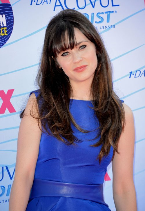 Zooey Deschanel: 2012 Teen Choice Awards Darling » Gossip | Zooey Deschanel