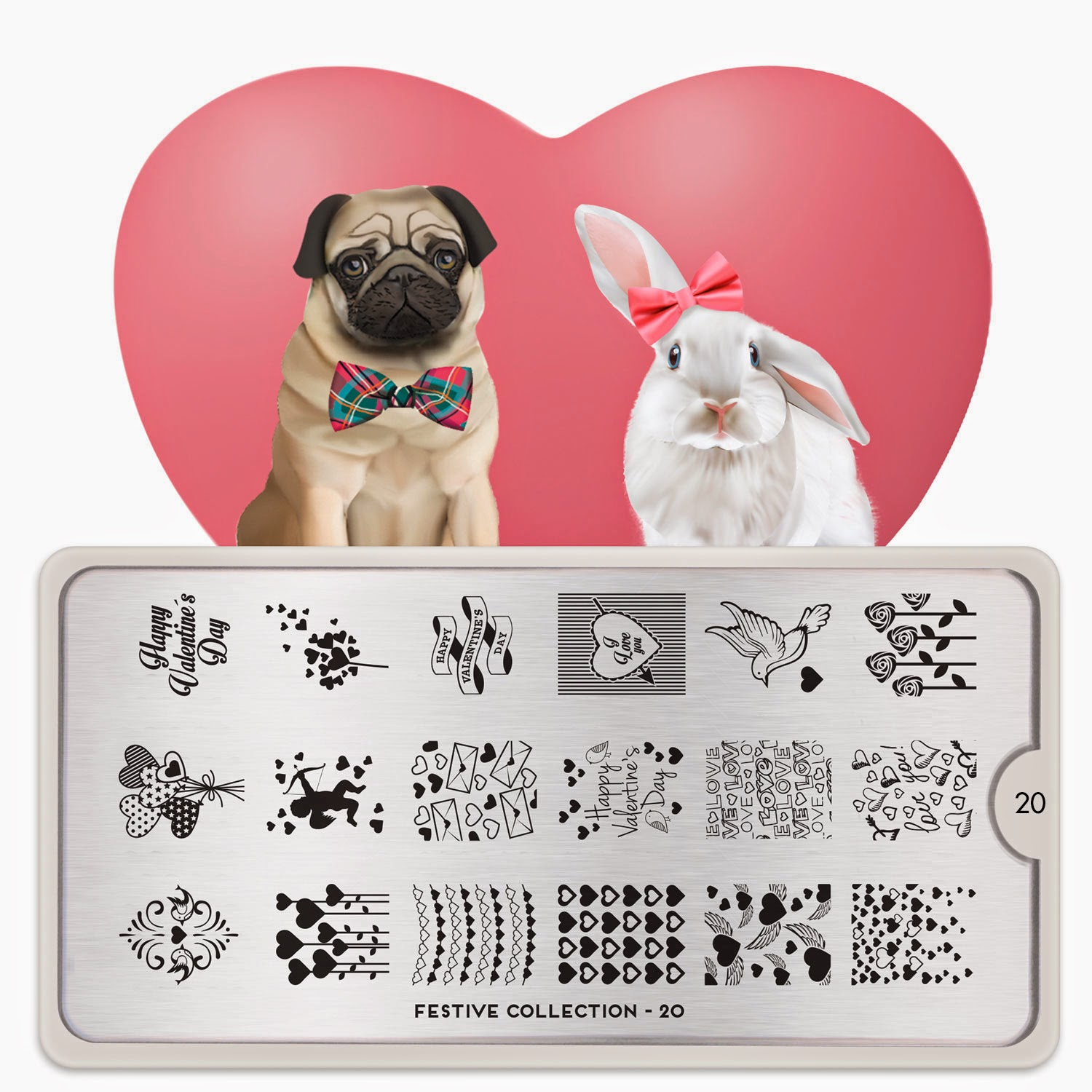 Lacquer Lockdown - MoYou London, nail art stamping blog, nail art stamping plates, valentine's day, valentines day, hearts, cupid, love, new stamping plates 2015, new nail art stamping plates 2015