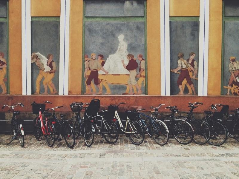 Дания, Копенгаген, велосипеды