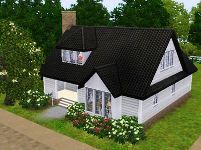 proper house american sims 3