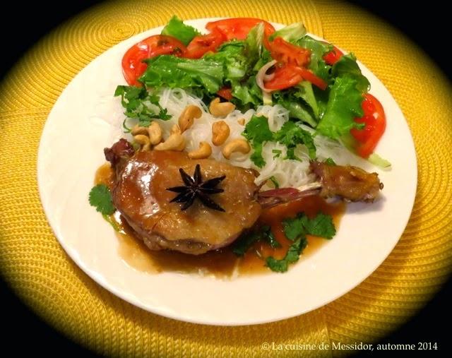 La cuisine de messidor cuisses de canard marinade - Comment cuisiner des cuisses de canard fraiches ...