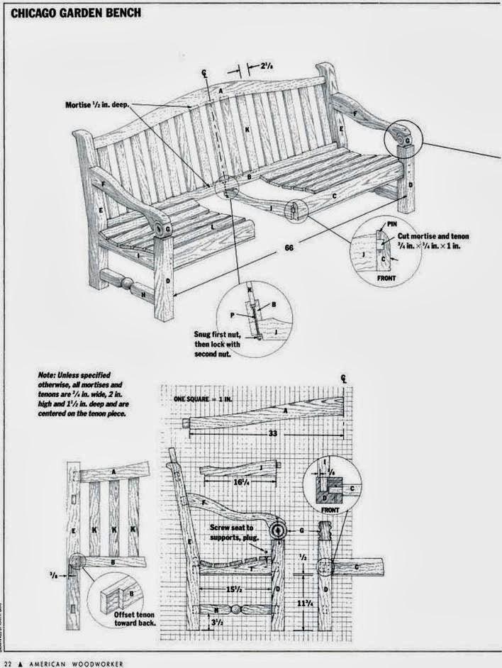 banco de jardim mesa:projeto de um banco de jardim