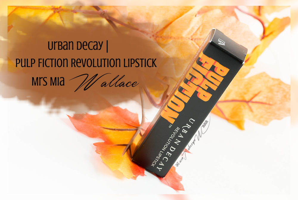 Urban Decay Pulp Fiction Revolution Lipstick Mrs Mia Wallace