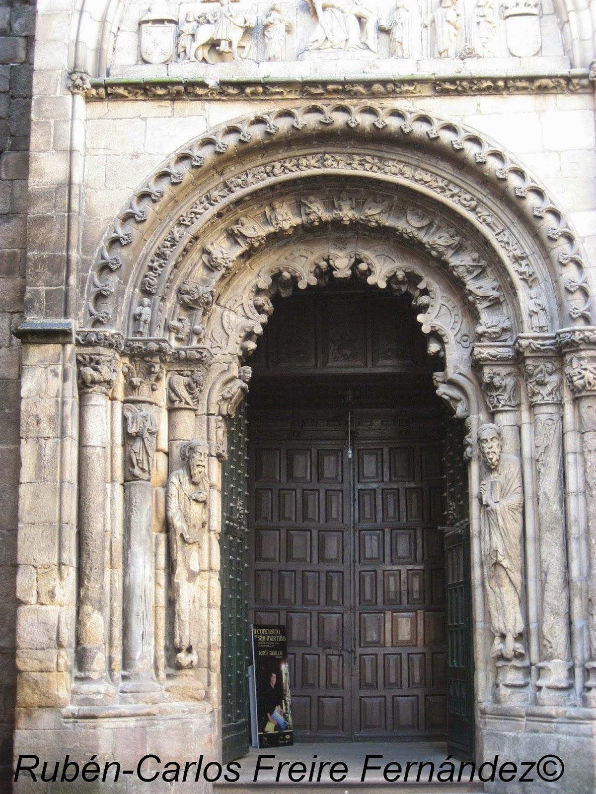 Romanico hispania catedral de san mart n orense - Construcciones san martin ...