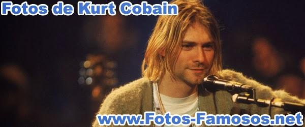 Fotos de Kurt Cobain