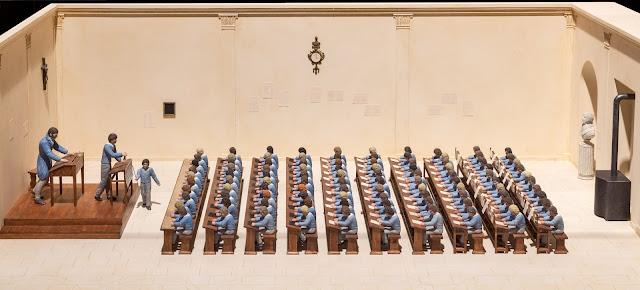 Maquette école 1800