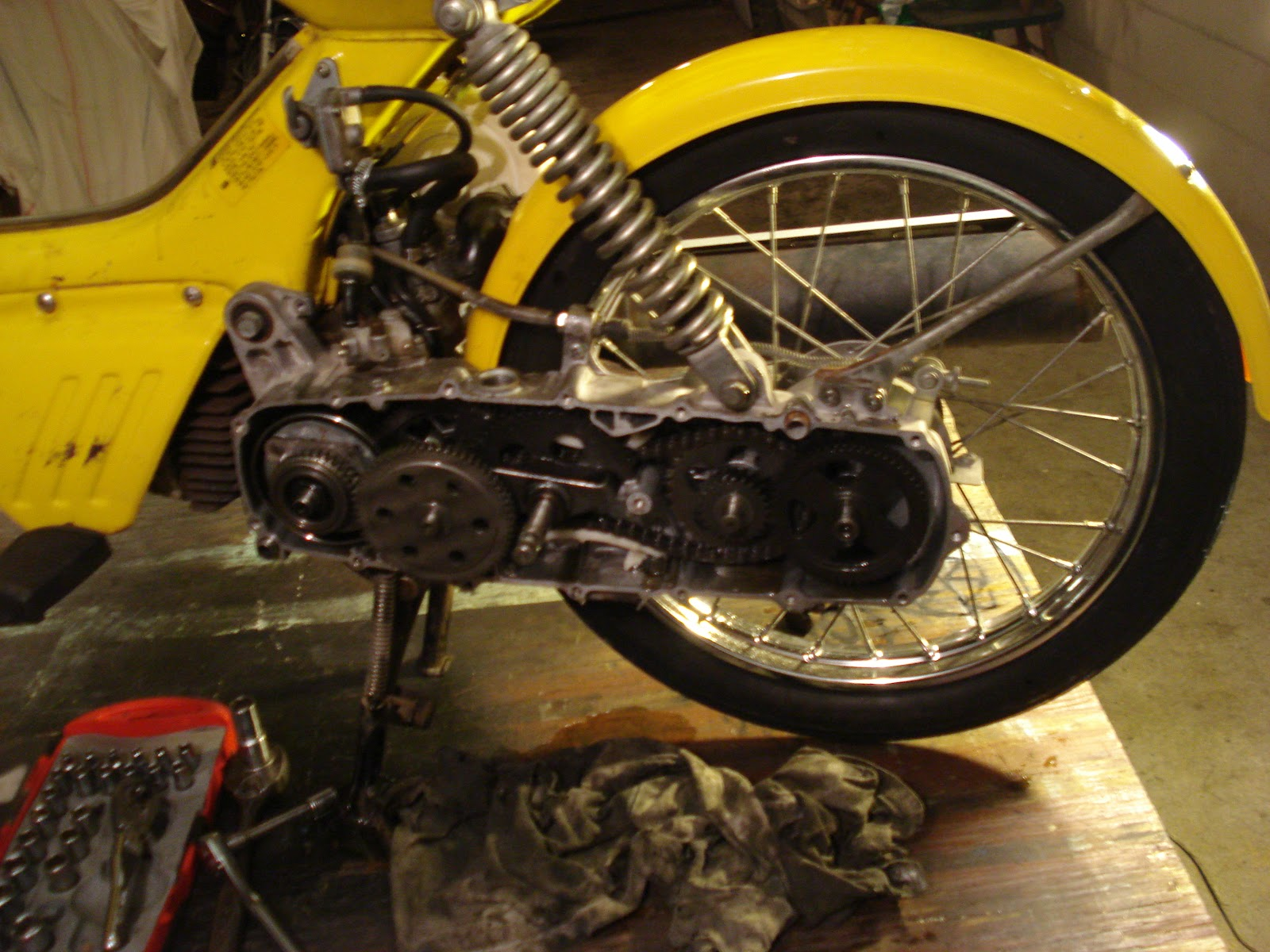 Restored Motorcycle Style  June 2012