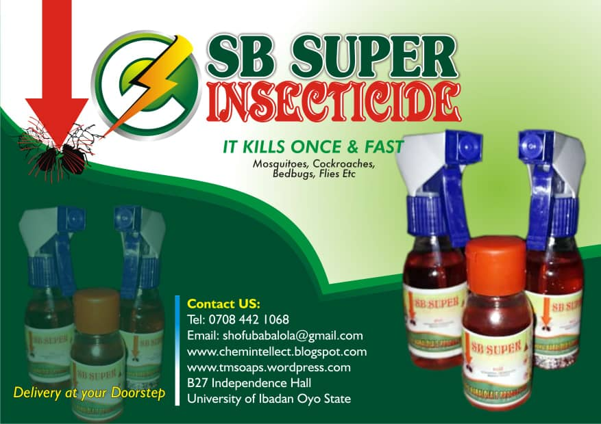 S.B SUPER INSECTICIDE